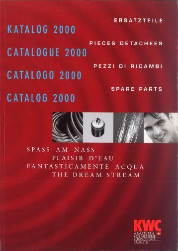 Ersatzteil Katalog 2000 - KWC