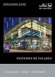 SYSTEMES DE FACADES - Welser Profile