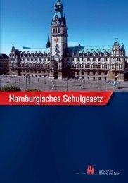 Hamburgisches Schulgesetz - Übergang Schule - Beruf