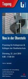 Veranstaltungsflyer (PDF 298 KB) - Landesinstitut für Lehrerbildung ...