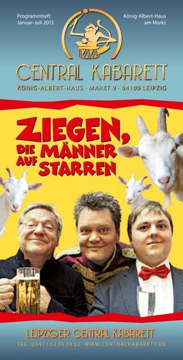 Ziegen, - Leipziger Central Kabarett