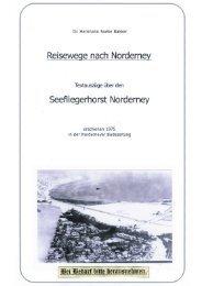 Fliegerhorstchronik Teil 2 - Chronik der Insel Norderney