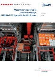 Modernisierung zentrales Komponentenlager HANSA-FLEX ...