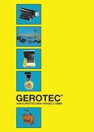 Rohr-Absperrscheiben (mechanisch) - GEROTEC Kanalprüftechnik