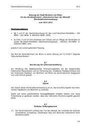 """Satzung für den Denkmalbereich """"Historischer Kern der Altstadt"""