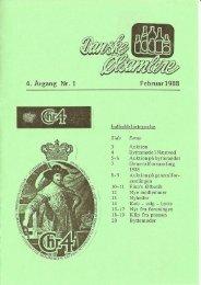 Februar 1988 - Danske Ølsamlere
