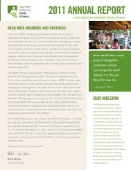 DBFA_AnnualReport2011 3 6 - Downtown Baltimore Family Alliance