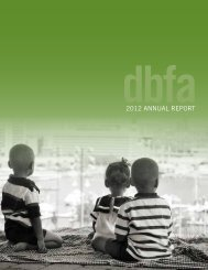 2012 ANNUAL REPORT - Downtown Baltimore Family Alliance