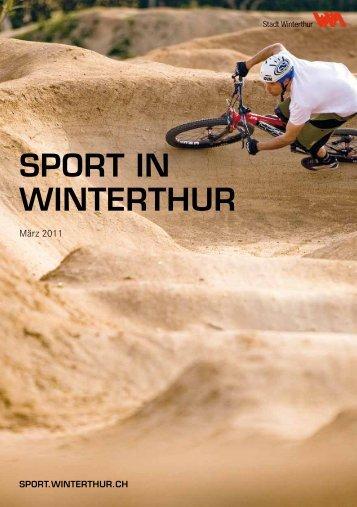 SPORT IN WINTERTHUR - Sportamt Winterthur