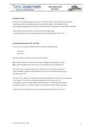 Informeller Brief Schreiben