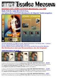 CDs: APPLE Interpreten Beatles Museum