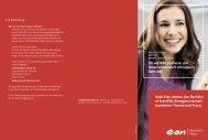 Flyer Bachelor of Arts - E.ON Westfalen Weser