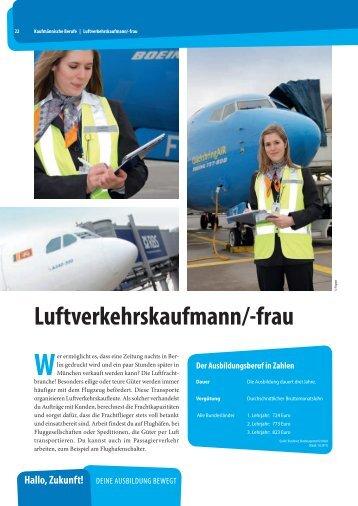 Luftverkehrskaufmann/-frau 2012 - Springer Fachmedien München ...