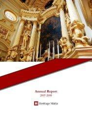 HM Annual Report Oct 07-Dec08updatedNovfinal - Heritage Malta