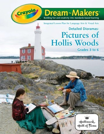 Detailed Dioramas: Pictures of Hollis Woods - Hallmark