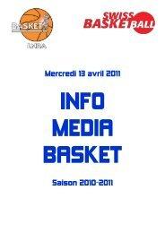 Mercredi 13 avril 2011 Saison 2010-2011 - 1-2-3-4-5-6