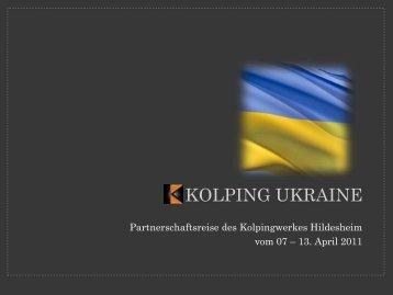 KOLPING UKRAINE - Kolpingwerk Deutschland