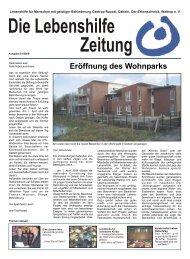 Eröffnung des Wohnparks - Lebenshilfe Waltrop