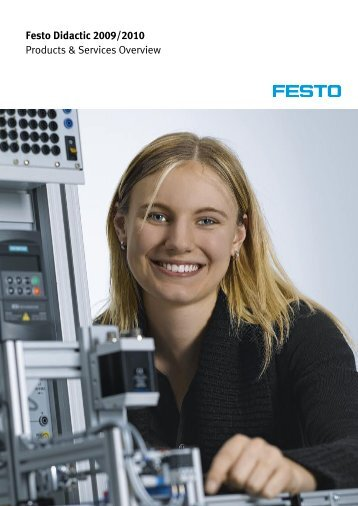 Festo Didactic 2009/2010 Products & Services Overview