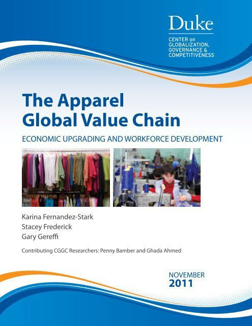 The Apparel Global Value Chain - Center on Globalization