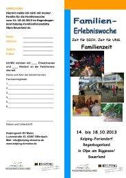 Familienzeit - Kolping Diözesanverband Mainz