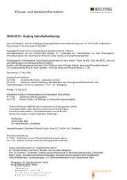 Informationen zum Katholikentag - Kolping Diözesanverband Mainz