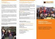 Info Projekt Peru - Kolping Diözesanverband Mainz
