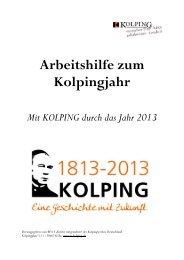 Arbeitshilfe zum Kolpingjahr - Kolping Diözesanverband Mainz