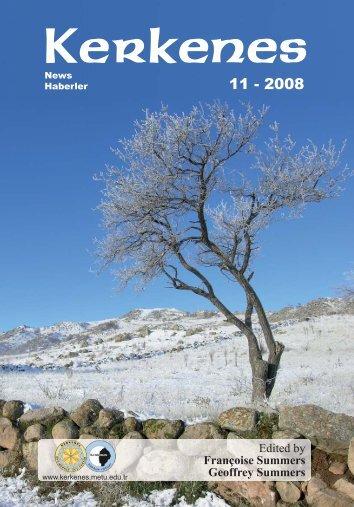 Edited by Françoise Summers Geoffrey Summers - Kerkenes ...