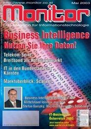 Die komplette MONITOR-Ausgabe 5/2003 können Sie