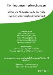 Kontinuumsunterbrechungen an der Fischa - P2 Archiv - Technische ...