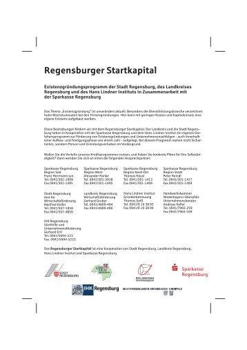 Regensburger Startkapital - Landkreis Regensburg
