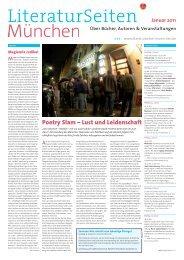 Poetry Slam – Lust und Leidenschaft - LiteraturSeiten München