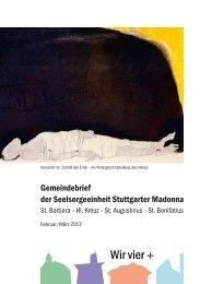 Gemeindebrief - Katholische Kirchengemeinde Heilig Kreuz ...