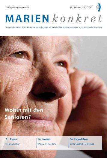 MARIEN konkret - St. Marien-Krankenhaus Siegen
