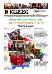 Newsletter Nr. 8 -  Kolpingwerk Trier