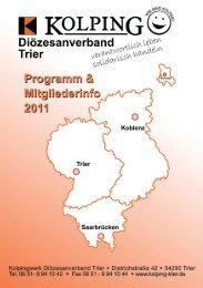 Kolpingsfamilien 2011 - Kolpingwerk Trier