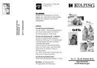 Einladung GrETa 2010 (3) - Kolpingwerk Trier