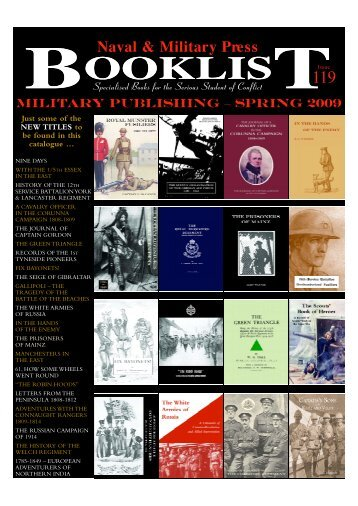 Book List 119 - Naval & Military Press