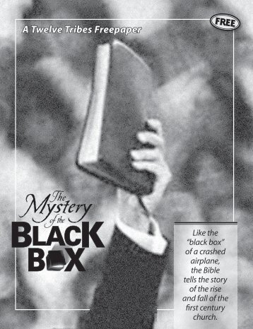 The Mystery Of The Black Box (PDF) - End Time Deception