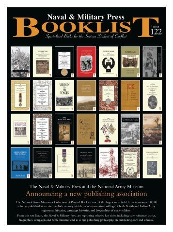 Book List 122 - Naval & Military Press