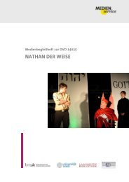 Medienservice: 14035: Nathan der Weise - Bundesministerium für ...