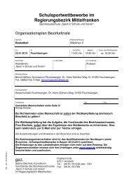 Organisationsplan_WK_Maedchen_II - Regierung von Mittelfranken ...