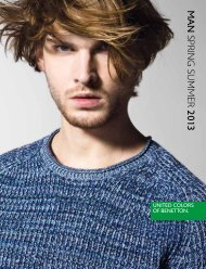Benetton Man Spring Summer 2013