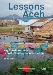 Key Considerations in Post-Disaster Reconstruction - Arup