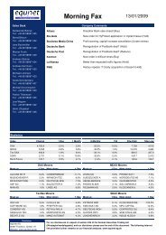 09.01.13 Morning Fax - EquityStory AG