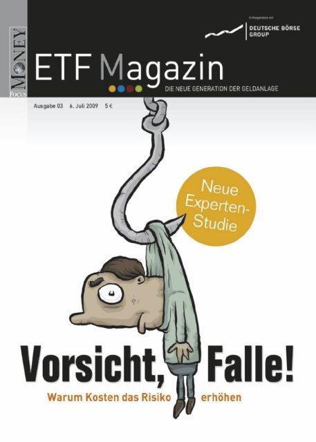 """ETF-Magazin: """"Vorsicht, Falle!"""" (Q3-2009) - Börse Frankfurt"""