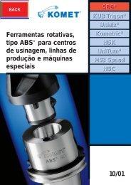 Ferramentas rotativas, tipo ABS® para centros de ... - komet group