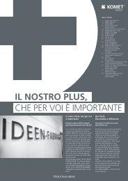 Il nostro PLUS, - exhibition journal ital.-engl. 2008 - Komet Group