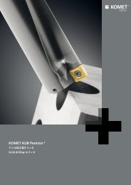KOMET KUB Pentron® ドリル加工深さ 5 × D - Komet Group